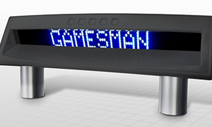 gamesman text display