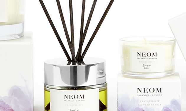 Neom candles selection