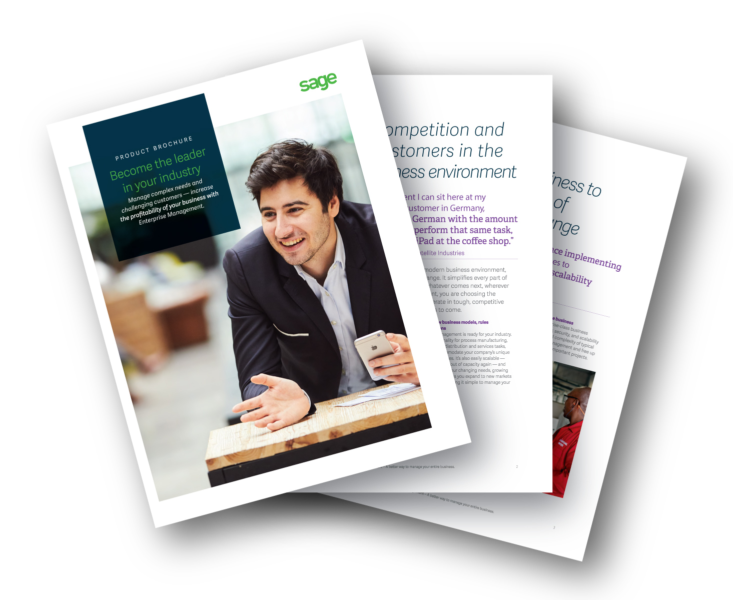 Sage Enterprise Management brochure