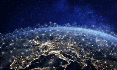 Global connectivity from satelite