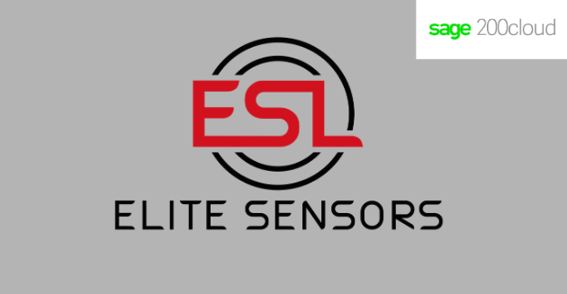 Elite Sensors Ltd and Sage 200 logos
